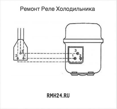 замена реле в холодильнике