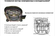 Сломался мотор-компрессор в холодильнике?