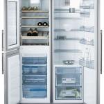 Холодильник с винным шкафом АЕГ