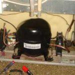 Замена компрессора холодильника STINOL